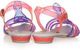 Webster Sophia Violeta vinyl sandals