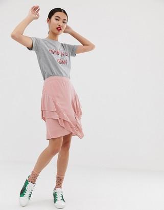 custommade Catja stripy skirt