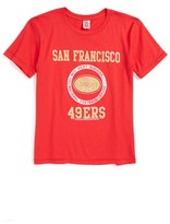 Junk Food Clothing Boy's Kick Off San Francisco 49Ers T-Shirt