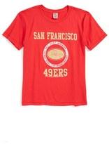 Junk Food Clothing Kick Off San Francisco 49ers T-Shirt (Toddler Boys, Little Boys & Big Boys)