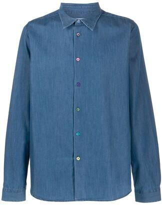 Paul Smith Denim Tailored-Fit Shirt