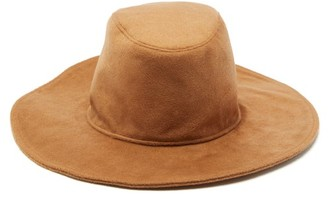 Lafayette House Of Marco Cashmere Fedora Hat - Womens - Beige