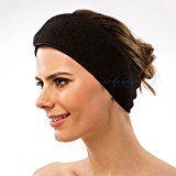 "Appearus Stretchable Spa Headbands, 3.5"" Wide (4 Count)"