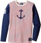 Toobydoo Anchor's Away Long Sleeve Tee Girl's Clothing