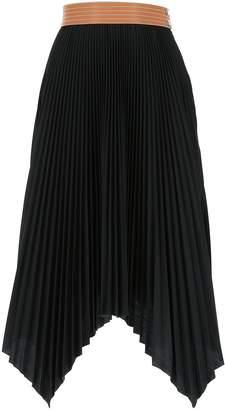 Loewe Pleated Handkerchief Skirt
