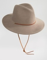 Brixton Field Hat with Wide Brim