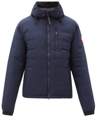 Canada Goose Lodge Packable Quilted Down Jacket - Navy