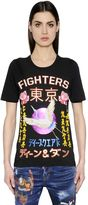 DSQUARED2 Fighters Japanese Printed Jersey T-Shirt