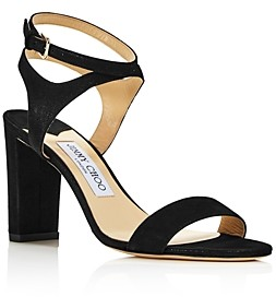 Jimmy Choo Women's Marine Leather High-Heel Sandals - 100% Exclusive
