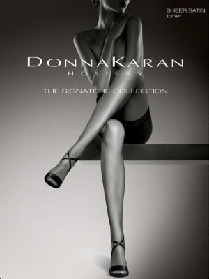 Donna Karan Women's Signature Satin Sheer Pantyhose with Restore Technology D0B109