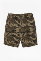 Camo Lightweight Cotton Shorts