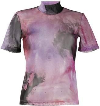 Ssheena tie-dye blouse
