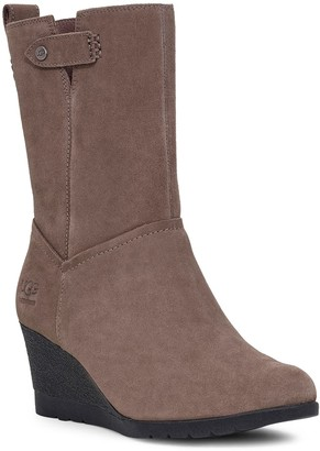 UGG Potrero Waterproof Wedge Bootie