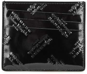 Maison Margiela Logo-embossed Leather Cardholder