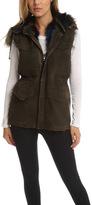 Jocelyn The Viper Olive Half Wash Vest