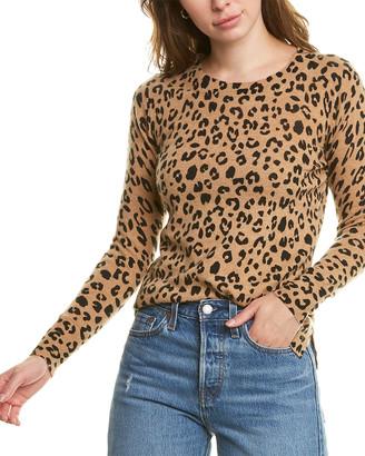 J.Crew Layla Leopard Cashmere Sweater