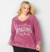 Avenue Do Something Amazing Today! Sweatshirt