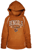 5th & Ocean Girls' Cincinnati Bengals Raglan Hoodie