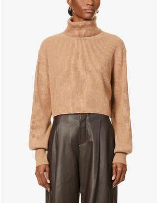 Reformation Luisa turtleneck recycled cashmere jumper