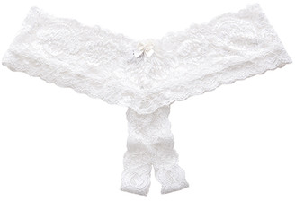 Hanky Panky Princess Lace Open Panty