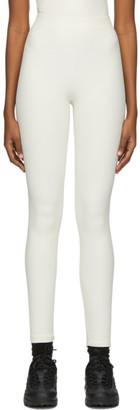 Gil Rodriguez Off-White Benton Thermal Leggings