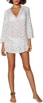Vix Paula Hermanny Lace Cover-Up Tunic