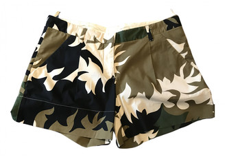 Prada Multicolour Cotton - elasthane Shorts