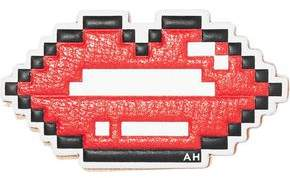 Anya Hindmarch Printed Textured-leather Sticker