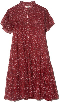 Etoile Isabel Marant Lanikaye Dress in Grenat