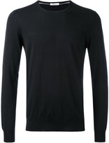 Paolo Pecora crew neck jumper - men - Silk/Cotton - M