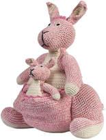 Anne Claire Crochet Kangaroo - Pink