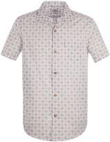 Ben Sherman Short Sleeve Optical Geo Shirt