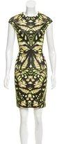 McQ Printed Bodycon Dress