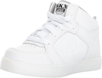 Skechers Boys Energy Lights-Elate Hi-Top Sneakers