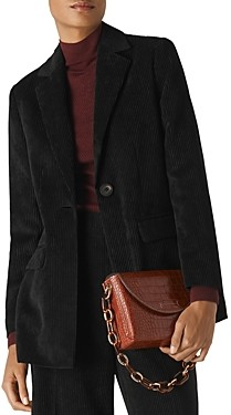 Whistles Corduroy Tailored Blazer