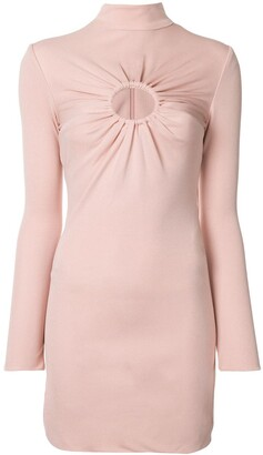 Tom Ford Gathered Detail Fitted Dress