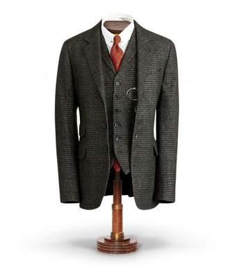 Ralph Lauren Plaid Wool-Blend Suit Jacket