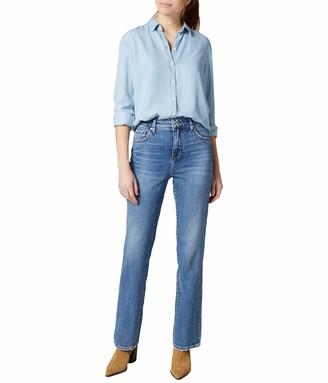 Jag Jeans Women's Petite Pheobe High Rise Boot Jean