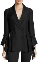 C/Meo We'll Be Alright Double-Breasted Blazer, Black