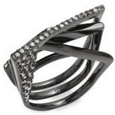 Alexis Bittar Crystal-Studded Ring