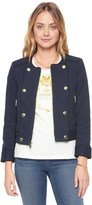 Juicy Couture Bonded Jacquard Military Jacket