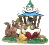 Fitz & Floyd Teeny Tiny Tails The Ticket Booth