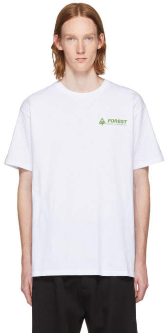 Raf Simons White Forest T-Shirt