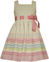 Bonnie Jean Sleeveless Striped Dress - Preschool Girls 4-6x