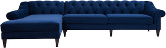 Jennifer Taylor Alexandra Tufted Left Sectional Sofa