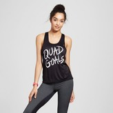 Made Right Women's Graphic Tank Top - Black