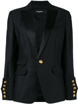 DSQUARED2 classic blazer - women - Silk/Polyester/Viscose/Virgin Wool - 42