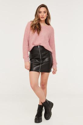 Ardene Faux Leather Mini Skirt
