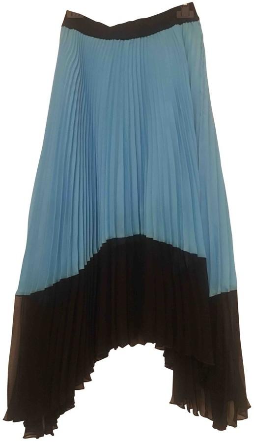 Pinko Blue Skirt for Women