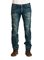 Cult of Individuality Greaser Straight Reck Wash Jeans
